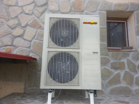 Икономично Отопление с Tермопомпа 16.5kW