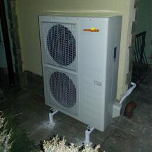 Отопление с Термопомпа 16.5kW DC Inverter